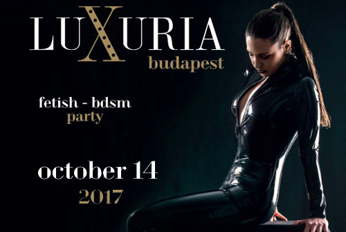 Fashion show at Luxuria!